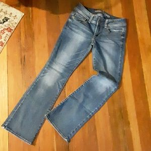 Kick Boot mid-rise jeans